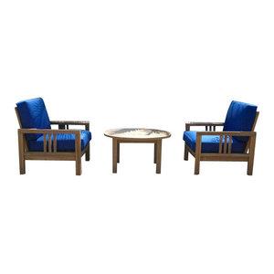 South Bay Deep Seating 3 Piece Set