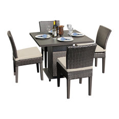 Napa Square Dining Table With 4 Chairs, Beige