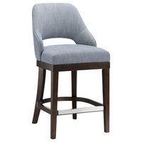 Madison Park Jillian Counter Stool With Swivel Seat