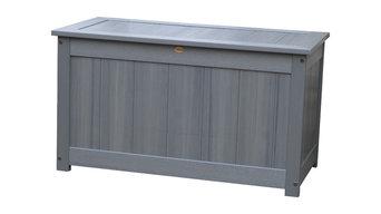 Deck Storage Box , Coastal Teak