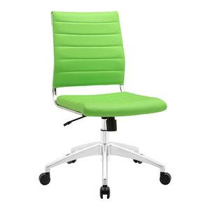 Modway Jive Armless Mid Back Office Chair EEI-1525-BGR