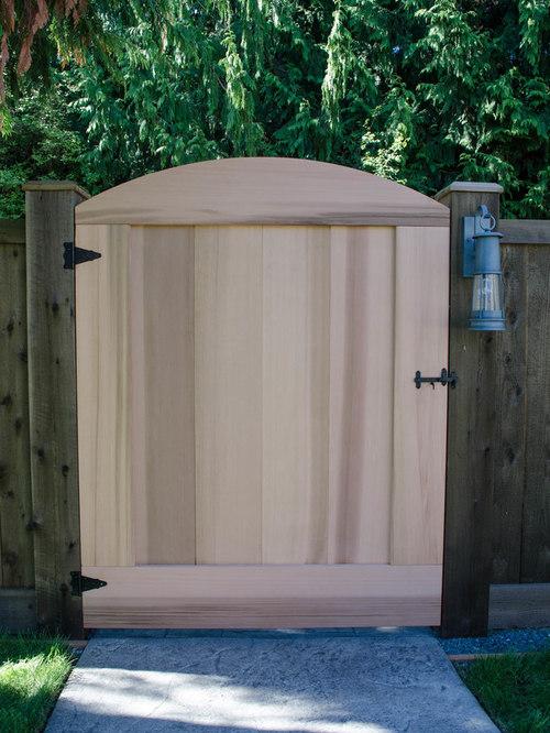 custom cedar wood gates - Products