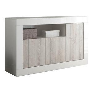 Lipari White Pine Sideboard