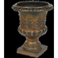 Weathered Decorative MgO Urn Planter