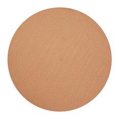 "Loloi Rug, Orange, 7'9"" Round"
