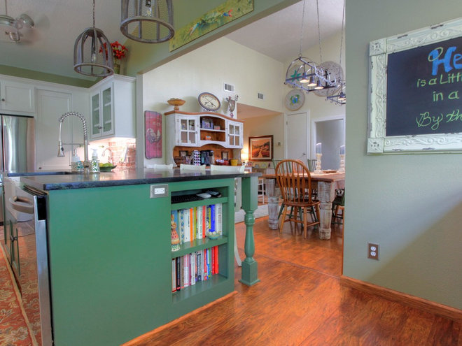 Reader Kitchen: Double the Space in Texas