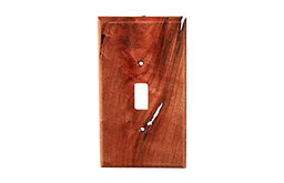 Traditional - 1 Toggle - Cherry Switchplate, BSH-682116