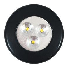 Lite-N-Up Led Utility Light, 35 Lumens Warm 3000k Black