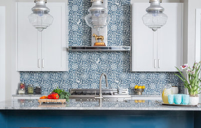 5 Refreshing Ways to Bring Blue Into the Kitchen