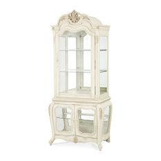 Emma Mason Signature Hillside AIC00401 Dining Curio Cabinet, Blanc