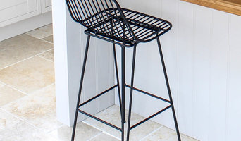 Black Iron Bar Stool