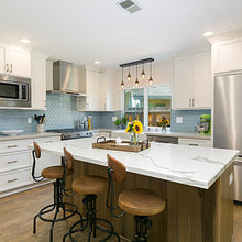 Dual Tone Kitchen Remodels