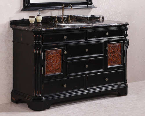 Ornate and Antique Bathroom Vanities - Bathroom Vanities And Sink Consoles - Ornate And Antique Bathroom Vanities