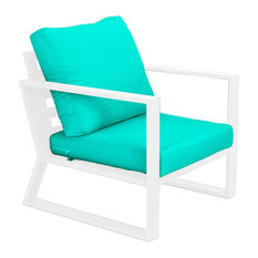 Outdoor Bolonia Relax Chair, White