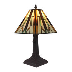 Delicieux AMORA LIGHTING LLC   Amora Lighting Tiffany Style Mission Table Lamp 15.5  Inches High   Table