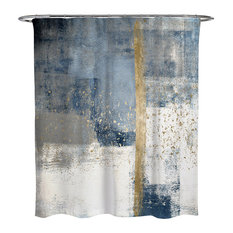 Oliver Gal 'In the Mid Summer' Printed Shower Curtain