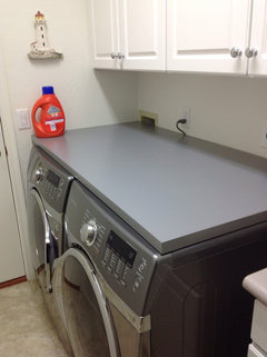 Counter Top On Front load Washerdryer