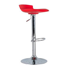 Alan Bar Stool, Red