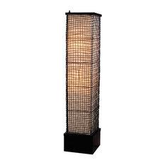 Trellis Outdoor Floor Lamp, Bronze Finish