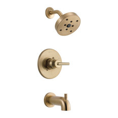 Delta Trinsic Monitor 14 Series H2Okinetic Tub & Shower Trim, Champagne Bronze