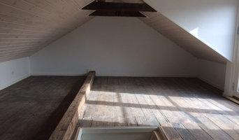 Renovering uudnyttet  loftrum