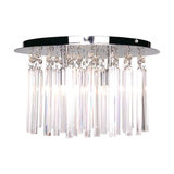 Emily Glass Prism Bar Ceiling Flush Light