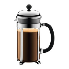 Chambord French Press Coffee Maker, 8 Cup, Chrome Matte