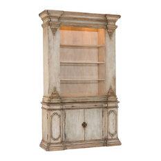 John Richard Modern Classic Jacaranda Distressed Bookcase