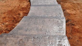 Custom Concrete Patio - Outdoor Kitchen - Firepit - Baldwin County, Al