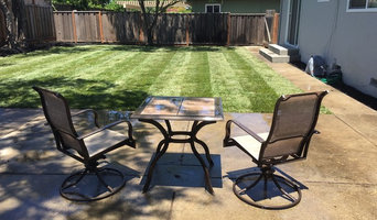 After - New Sod & Mulch