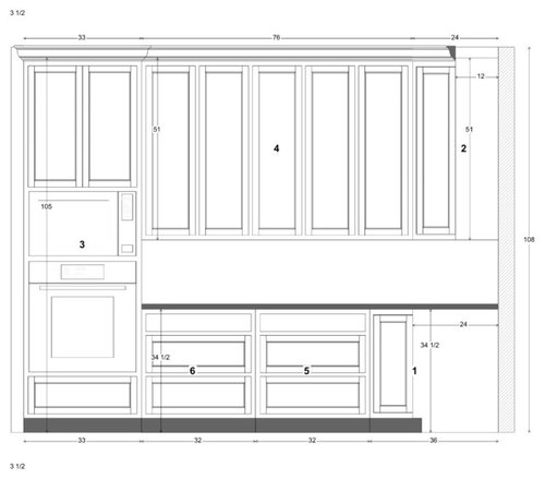 9ft Kitchen Ceiling Tall Cabinets To Ceiling Or One Normal Size With