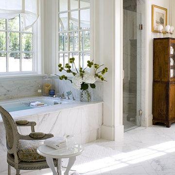 Riverhills Showhouse Master Bathroom - MyHomeIdeas.com