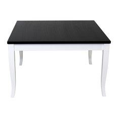FINEZJA Coffee Table Black/White