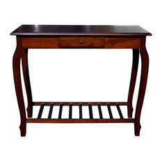 Solid Mahogany Carolina Console Table