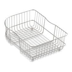 Kohler - Kohler Wire Rinse Basket, Stainless Steel - Kitchen Sink Accessories
