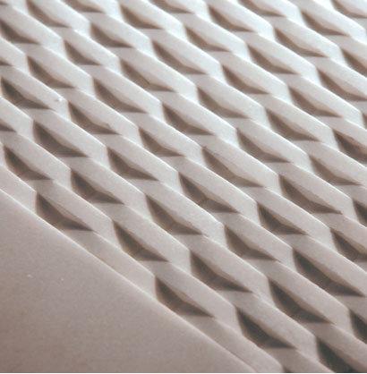 White Stone Weave Mosaic - Tile