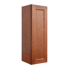 "Sunny Wood ESW1236-A Ellisen 12"" x 36"" Single Door Wall Cabinet - Amber Spice"