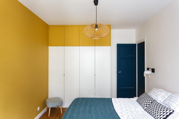 Современный Спальня by Emilie Melin architecte DPLG
