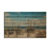 """Sand Dunes"" Wall Art Photograph on Wood, 48""x30"""