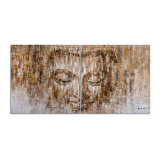 The Life of Buddha II- Hand Painted Canvas Art