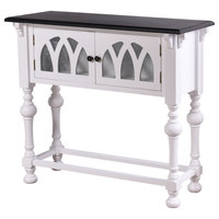 "StyleCraft SC-AF17930 Church St. 36"" Long Wood Console Table"