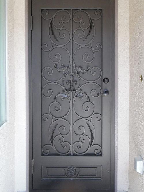 Wrought Iron Security Doors