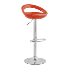 Venus Bar Stool, Orange