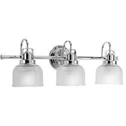 Fancy Traditional Bathroom Vanity Lighting by Progress Lighting