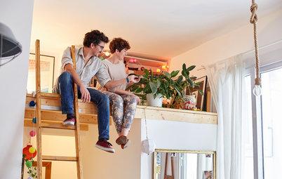 Houzz TV: Los 60 m² bien aprovechados de un piso en Madrid
