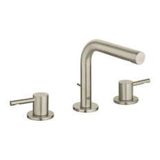 Grohe Essence 8-in Widespread Two-Handle M-Size Bathroom Faucet, Brushed Nickel