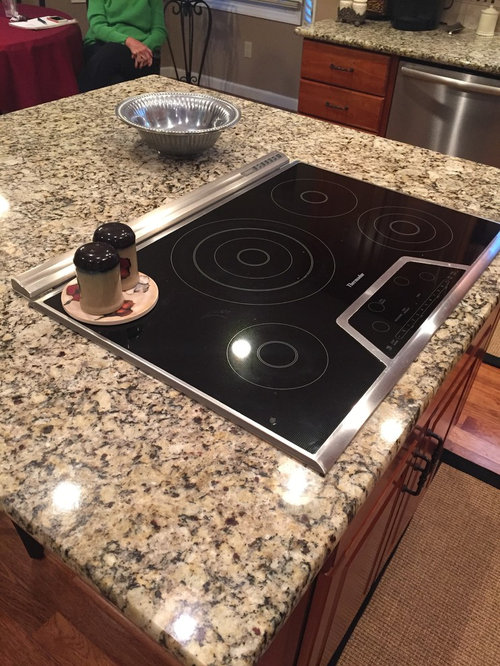 Removing Stove Top From Island Need