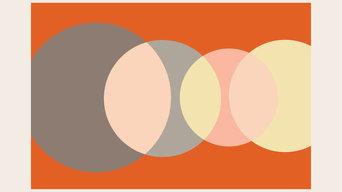 "Four Eyes Horizontal Print, 16"" x 20"" in 22"" x 26"" Frame"