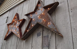 Christmas Star Light Fixture by West Vintage Trading Company