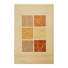 Baku Abstract Beige Floor Rug, 180x120 cm